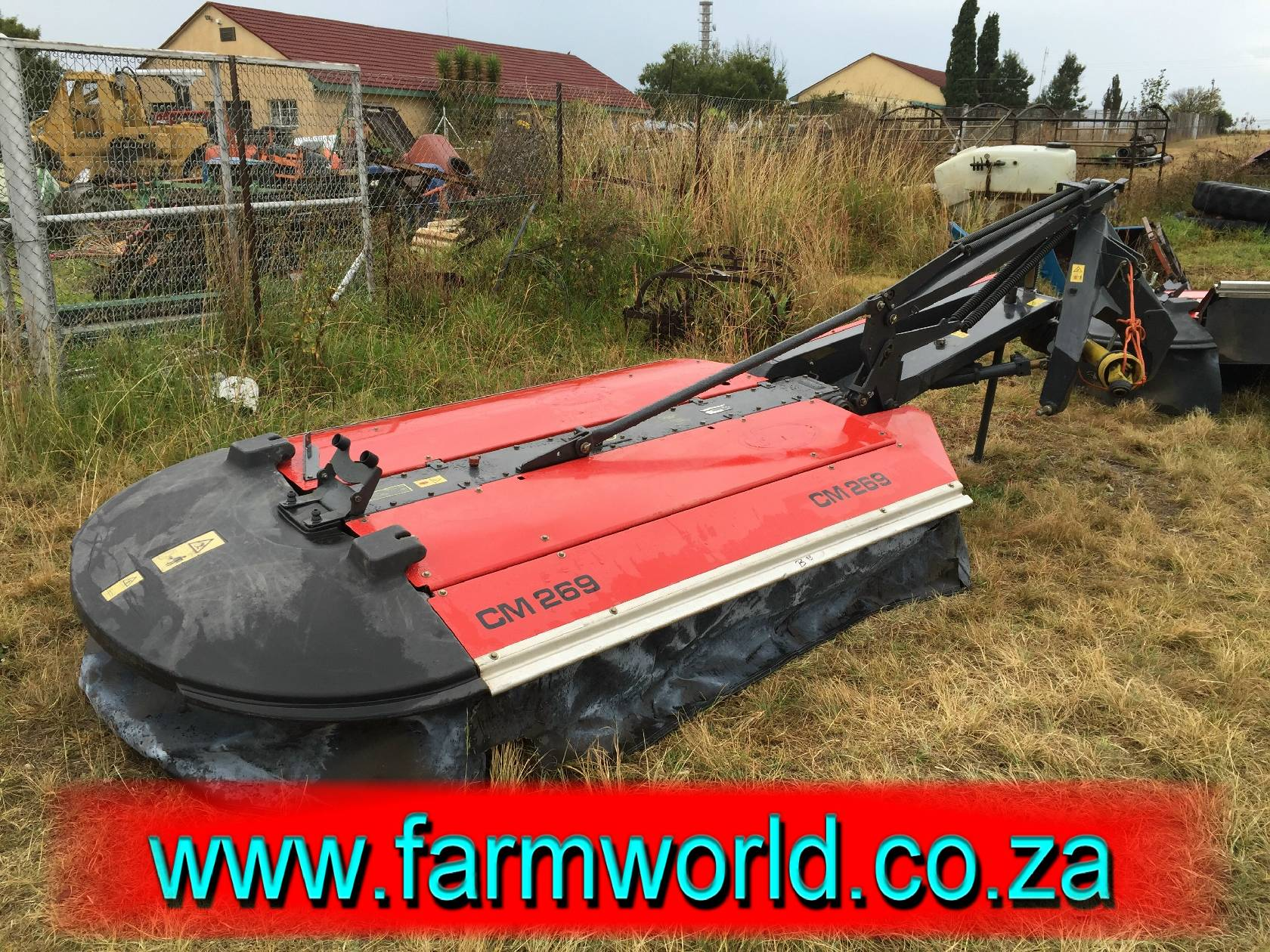 S803 Pre-Owned Vicon CM 269 Disc Mower / Tol Snyer